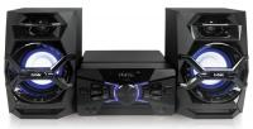BBK AMS118BT черный/темно-синий 120Вт/CD/CDRW/FM/USB/BT