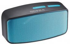 Supra BTS-530 черный/голубой 3Вт/MP3/FM(dig)/USB/BT/microSD
